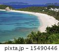 阿波連ビーチ 阿波連 砂浜の写真 15490446