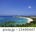 阿波連ビーチ 阿波連 砂浜の写真 15490447