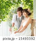 ブーケ ブライダル ウエディングドレスの写真 15493392