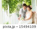 ブーケ ブライダル ウエディングドレスの写真 15494109