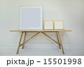 Three empty decorative frame for paintings or photographs on the 15501998