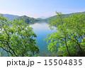 夏の桧原湖と磐梯山 15504835