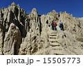 ラパス 月の谷 岩山の写真 15505773