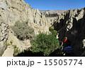 ラパス 月の谷 岩山の写真 15505774