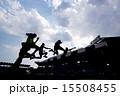 陸上のジャンプ 15508455