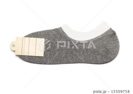 new gray socks label isolated white background 15509758
