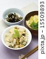 アサリとタケノコの炊き込みご飯の献立 15509893