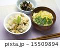 アサリとタケノコの炊き込みご飯 15509894