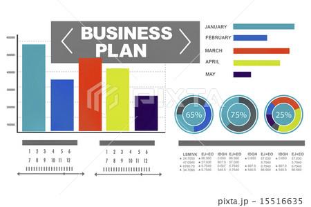 business plan graph brainstorming strategy idea info conceptのイラスト素材 [15516635] - PIXTA