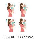 子育て 育児 パターン イラスト  15527392
