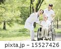 ナース 車椅子 医者の写真 15527426