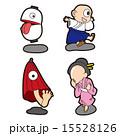 ベクター 妖怪 キャラクターのイラスト 15528126