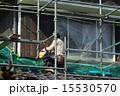 足場 塗装 塗装工の写真 15530570