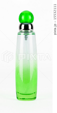 green parfume bottle isolatedの写真素材 [15532111] - PIXTA