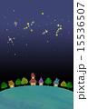 星空と街並み 15536507