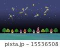星空と街並み 15536508