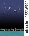 星空と街並み 15536509
