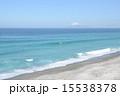 新島 羽伏浦海岸 海の写真 15538378