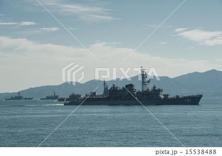 海上自衛隊 体験航海 護衛艦 シルエット 15538488