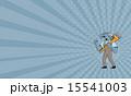 こぶし モンキースパナ モンキーレンチのイラスト 15541003