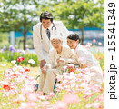 医者 看護師 新緑の写真 15541349