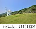 小豆島 ギリシャ風車 風景の写真 15545886