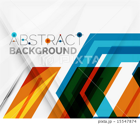 Geometric abstract background. Arrow designのイラスト素材 [15547874] - PIXTA