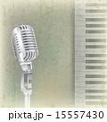背景 レトロ 音楽のイラスト 15557430