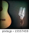 背景 レトロ 音楽のイラスト 15557459