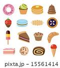 おやつ お菓子 スイーツのイラスト 15561414