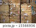 古紙 紙資源 リサイクルの写真 15566936