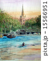 コッツウェルズのエイボン川のスケッチ 15566951