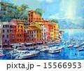 北イタリア・ポルトフィーノのスケッチ 15566953