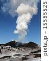 溶岩 火口 ガスの写真 15585525