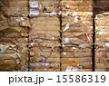 古紙 紙資源 リサイクルの写真 15586319