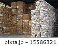 古紙 紙資源 リサイクルの写真 15586321