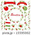 フレーム ベクター ストロベリーのイラスト 15595002
