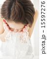 ビューティーイメージ 顔を洗う若い女性 15597276