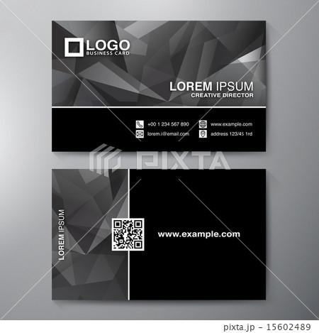 modern business card design template のイラスト素材 15602489 pixta