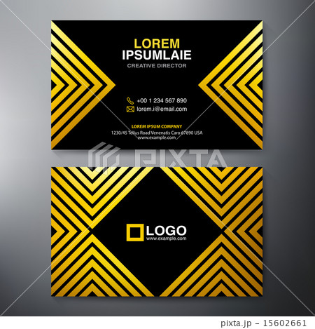 Modern Business card Design Template.のイラスト素材 [15602661] - PIXTA