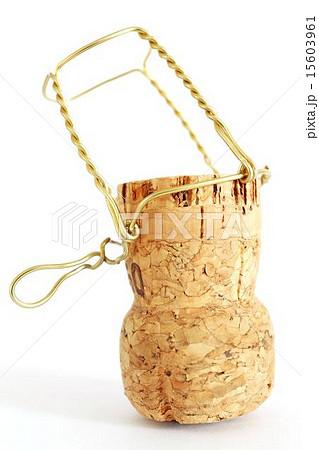 cork from champagne bottleの写真素材 [15603961] - PIXTA