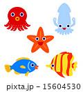 熱帯魚キャラクター 15604530