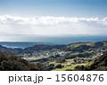 淡路島の集落と海 15604876