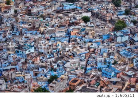 インド・ジョードプルの街並み 15605311