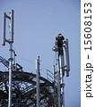 携帯電話 基地局 高所作業の写真 15608153