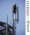 基地局 携帯電話 高所作業の写真 15608154