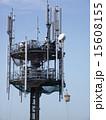基地局 高所作業 携帯電話の写真 15608155
