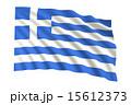 ギリシャ国旗 15612373
