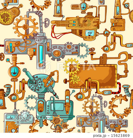 Industrial Machines Seamless 15623869