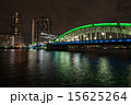 勝鬨橋 隅田川 アーチ橋の写真 15625264